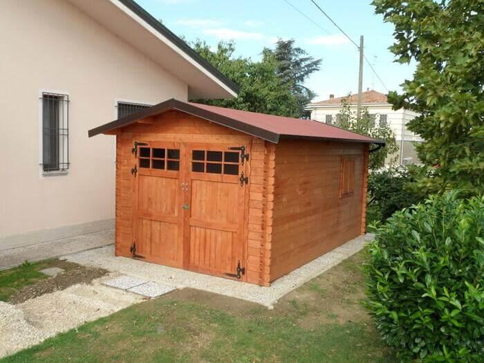 Garage in legno modello COUNTRY