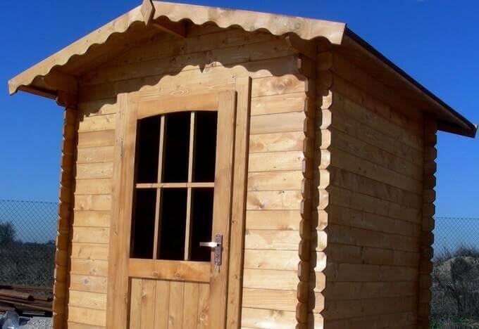 Casetta in legno modello JOLLY – MADE IN ITALY