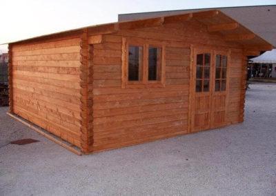 Casa abitabile in legno modello ANNA
