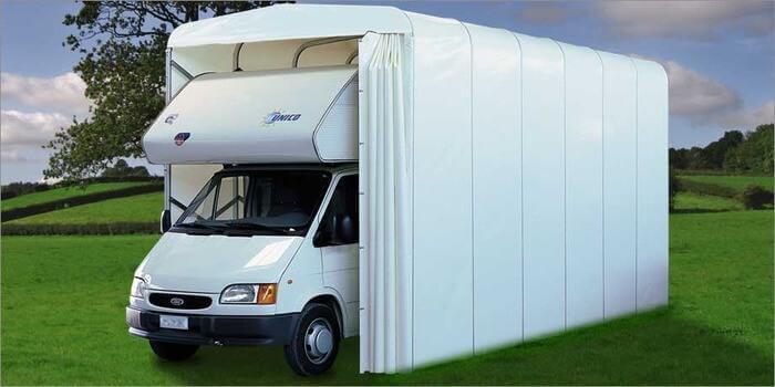 Caravan box in PVC