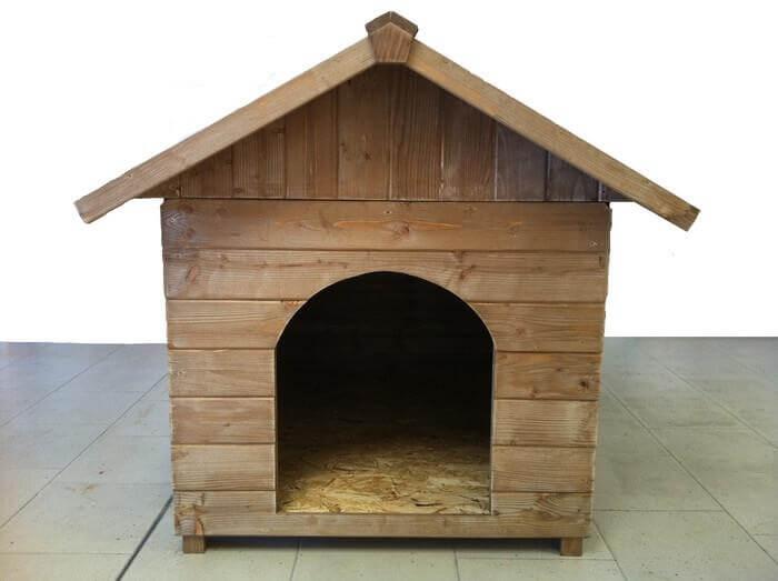 Cuccia media in legno a pannelli