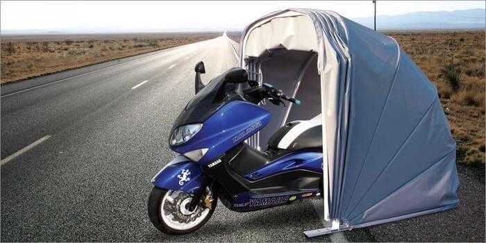 Moto box in PVC