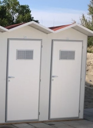 porte in pvc per cabine